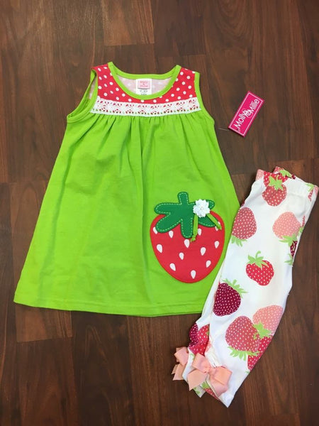 Molly & Millie strawberry set