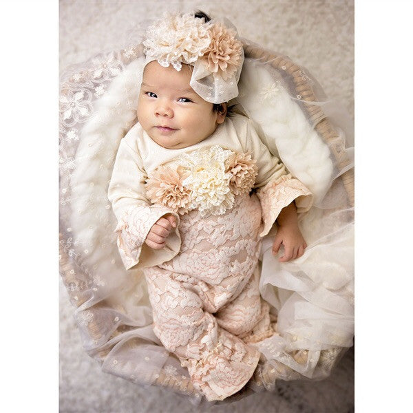 Haute Baby -purrfect- autumn mist Coverall