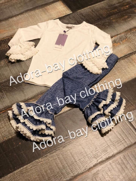Adora-bay denim & lace collection