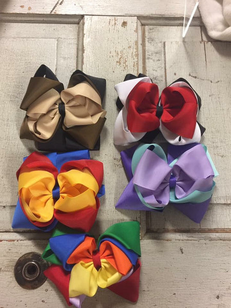 Triple layer Bows -6 inch