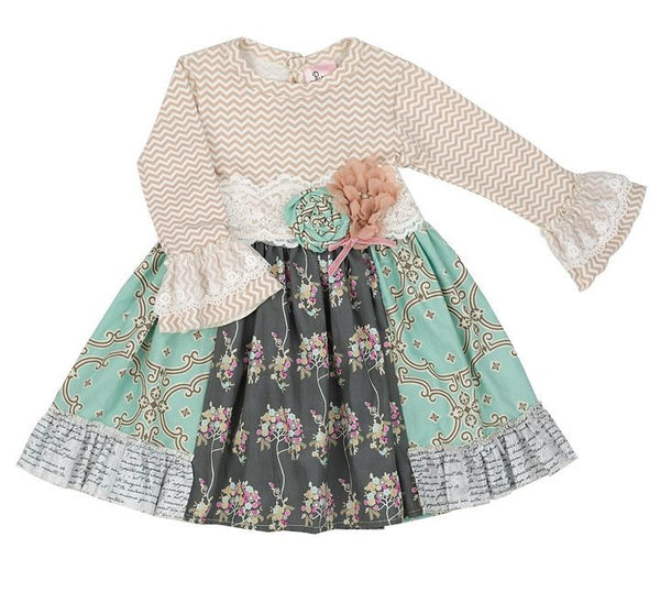 Haute Baby - Purrfect Anna Louise Dress w/ Leggings