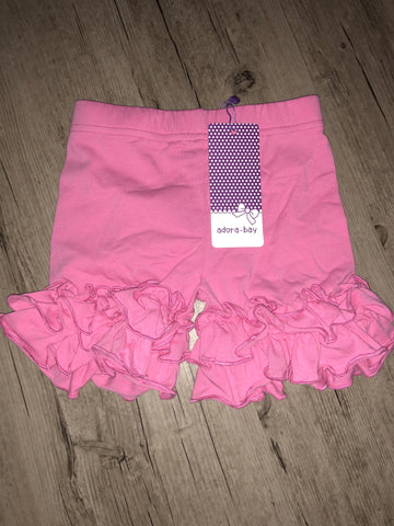 Adora-bay double ruffle shorties -IN STOCK- 3m to size 3t listing