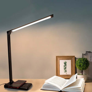 Led Desk Wireless Charging Lamp