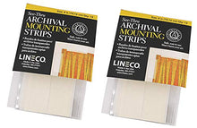 Load image into Gallery viewer, Lineco See-Thru Archival Mounting Strips 12/Pkg-4""