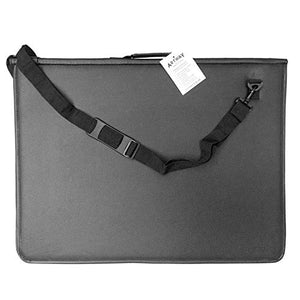 Artway Premium Presentation Portfolio with 10 Sleeves - Waterproof Padded Cover & Shoulder Strap - A2