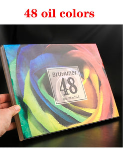Brutfuner oil color pencil set -different sizes available-