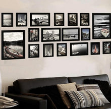 Load image into Gallery viewer, Wooden frames set 18Pcs  -multiple colors available-