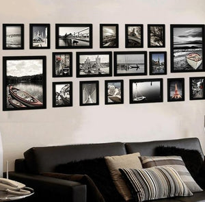 Wooden frames set 18Pcs  -multiple colors available-
