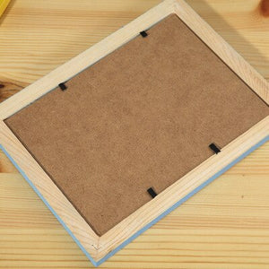 Wooden frame -multiple sizes/colors-