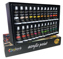 Load image into Gallery viewer, Eco-friendly Acrylic paint -48 Colors, 22ml per tube-