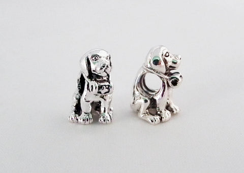 PD11 - Originale Perle Chien Cute Dog Pandor Sterling Bead