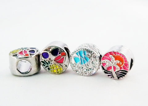PD10A - Perles Vacances Style Pandora Vacation Beads