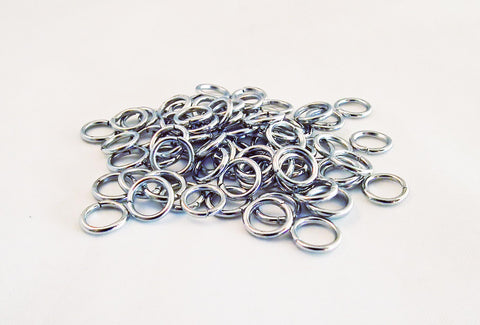 ALA1V - Anneaux Argent 1.2mm Silver Jump Rings