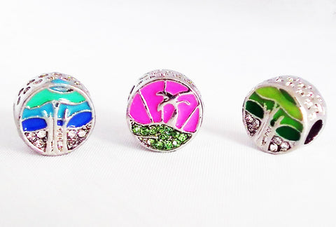 PD10B - Perles Vacances Style Pandora Vacation Beads