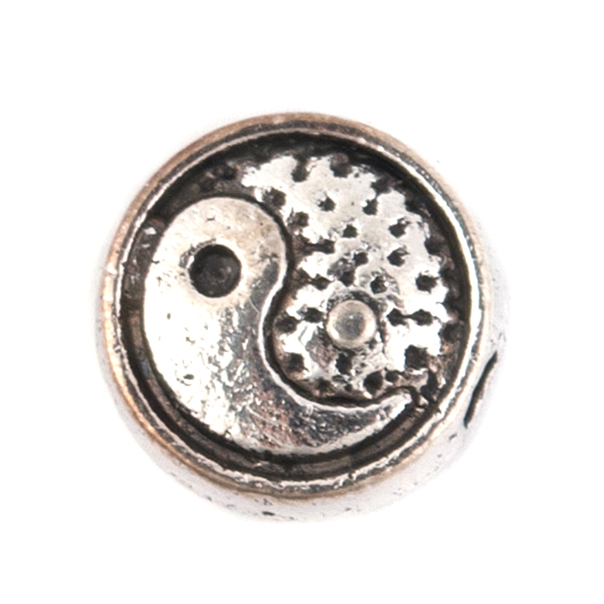 ISP01 - Perles Intercalaires Yin Yang Spacer Beads