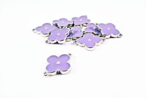 ALL1L - Connecteur Fleur Monogramme / Monogram Flower Connector - No Mercy Making