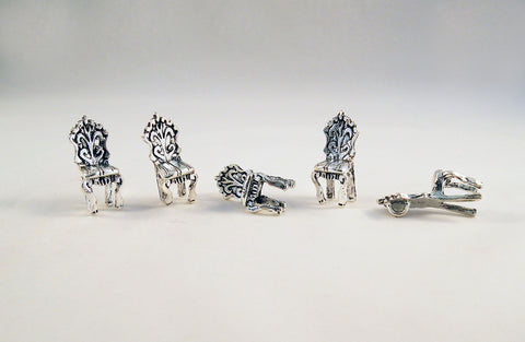 BCP24 - Breloques Chaises Vintage Chair Charms - No Mercy Making