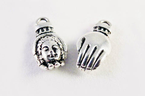 BCP33 - Breloques Main Buddha Hand Charms - No Mercy Making