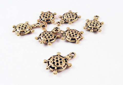 BCP74 - Breloque Tortue / Turtle Charm - No Mercy Making