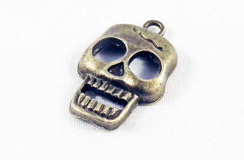 BP24 - Breloque Tête de Mort Happy Skull Pendant - No Mercy Making