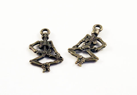 BP37 - Breloques Squelette Skeleton Pendants - No Mercy Making