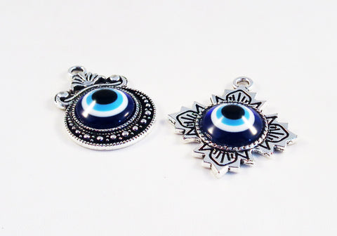 A0920 - Breloques Oeil Grec Chance Evil Eye Luck Pendants