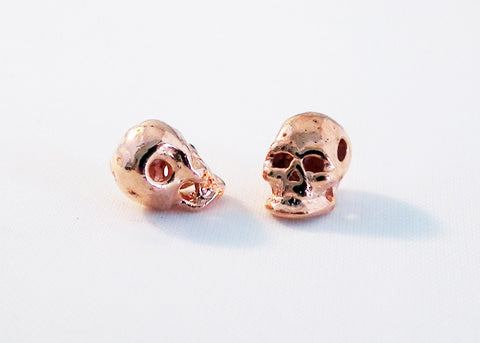 ISP29 - Perles Intercalaires Tête de Mort / Skull Spacer Beads