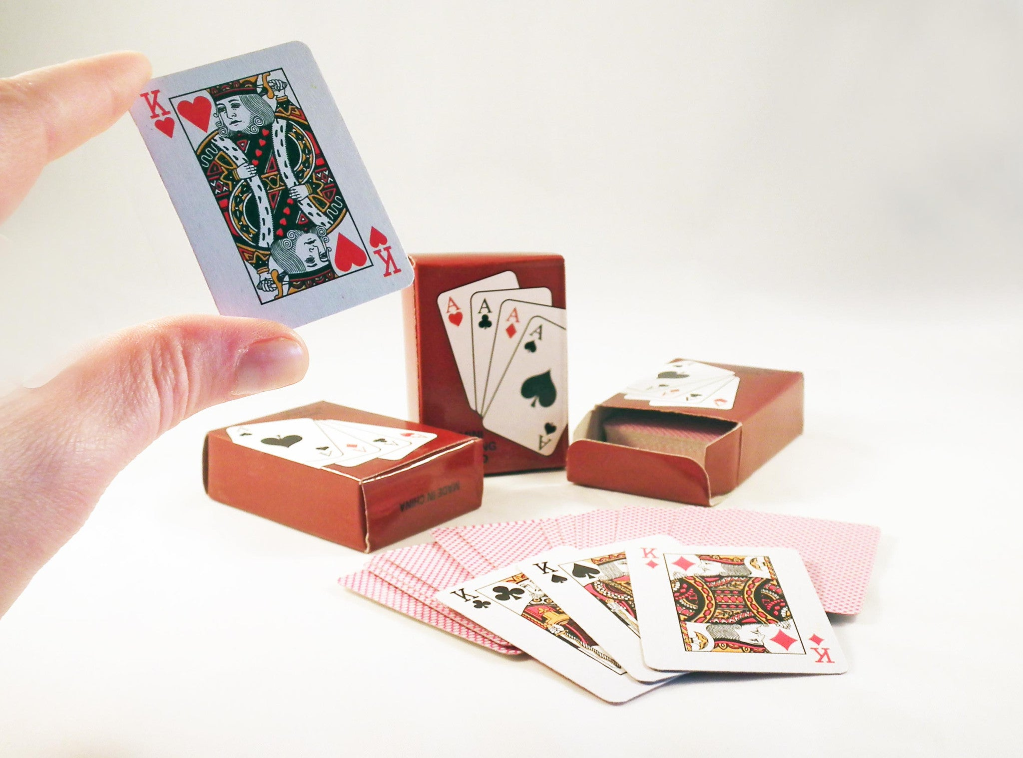 Cartes à Jouer Miniature Deck of Playing Cards - No Mercy Making
