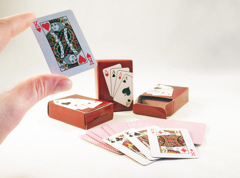 REF29M - Cartes à Jouer Miniature Deck of Playing Cards - No Mercy Making