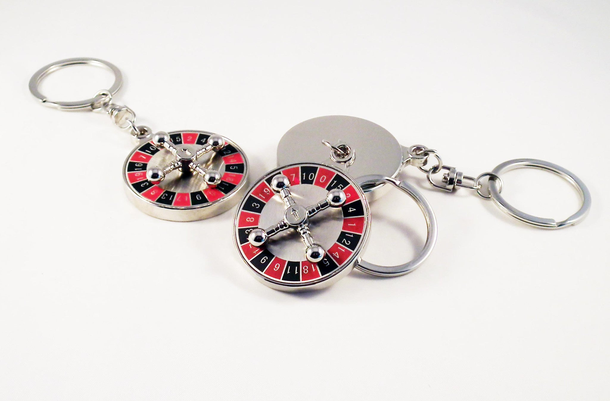 Porte-Clé Roulette Casino Keychain - No Mercy Making