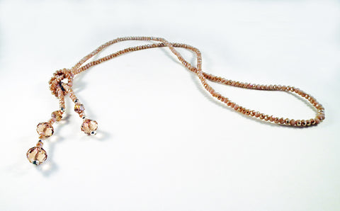Swarovski Crystal Knot Necklaces