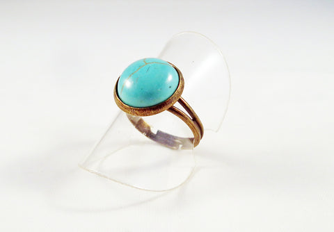 Bohemian Handmade Exclusive Turquoise Rings