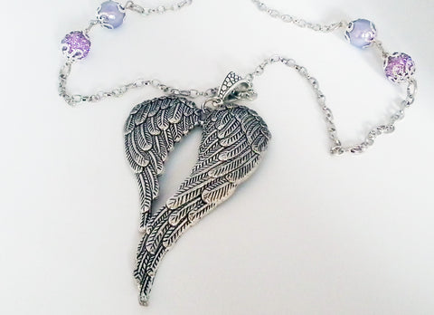 Jana Special Order Buddha and Angel Wings Necklaces