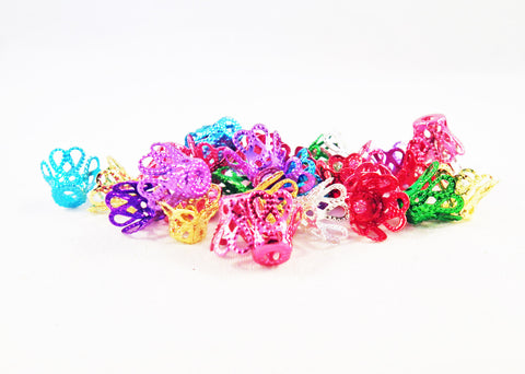 FC58M - Coupelles Multicolores / Mixed Colours Bead Cones - No Mercy Making