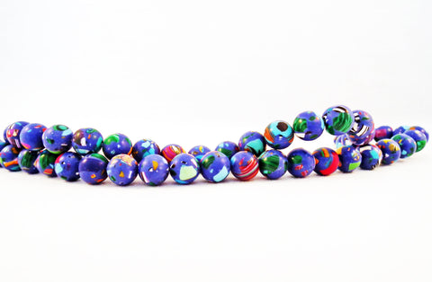 PFM11 - 5 perles 8mm Abacus de Turquie / 5 Turkey Abacus Beads 8mm - No Mercy Making