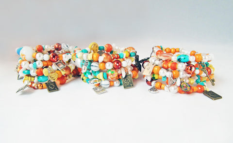 Bracelets Bohème Uniques POKER Ethnic Gemstones Bracelets - No Mercy Making