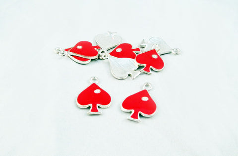 BCP11 - Breloques Pique Rouge / PokerStars Charms - No Mercy Making