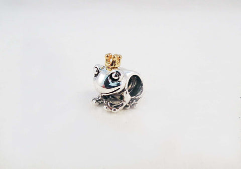 ALP2 - Perle Grenouille Prince Style Pandora Bead Frog - No Mercy Making