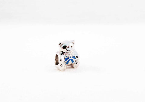 ALP3B - Perle Ourson Peluche Style Pandora Bead Teddy Bear - No Mercy Making