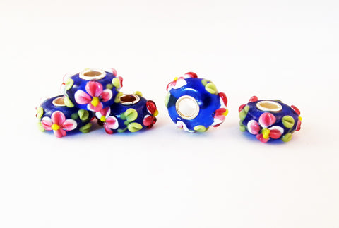 PFM53F - Perles Murano Lampwork Beads - No Mercy Making