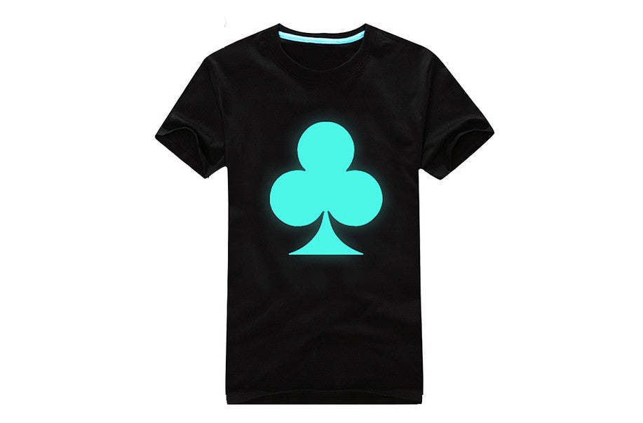 "REF40 - T-Shirt Lumineux 5 Modèles  ""Glow in the Dark"" T-Shirt 5 Designs - No Mercy Making"