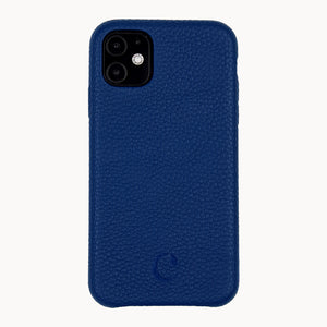 Clen Navy Blue iPhone 11 Leather Phone Case