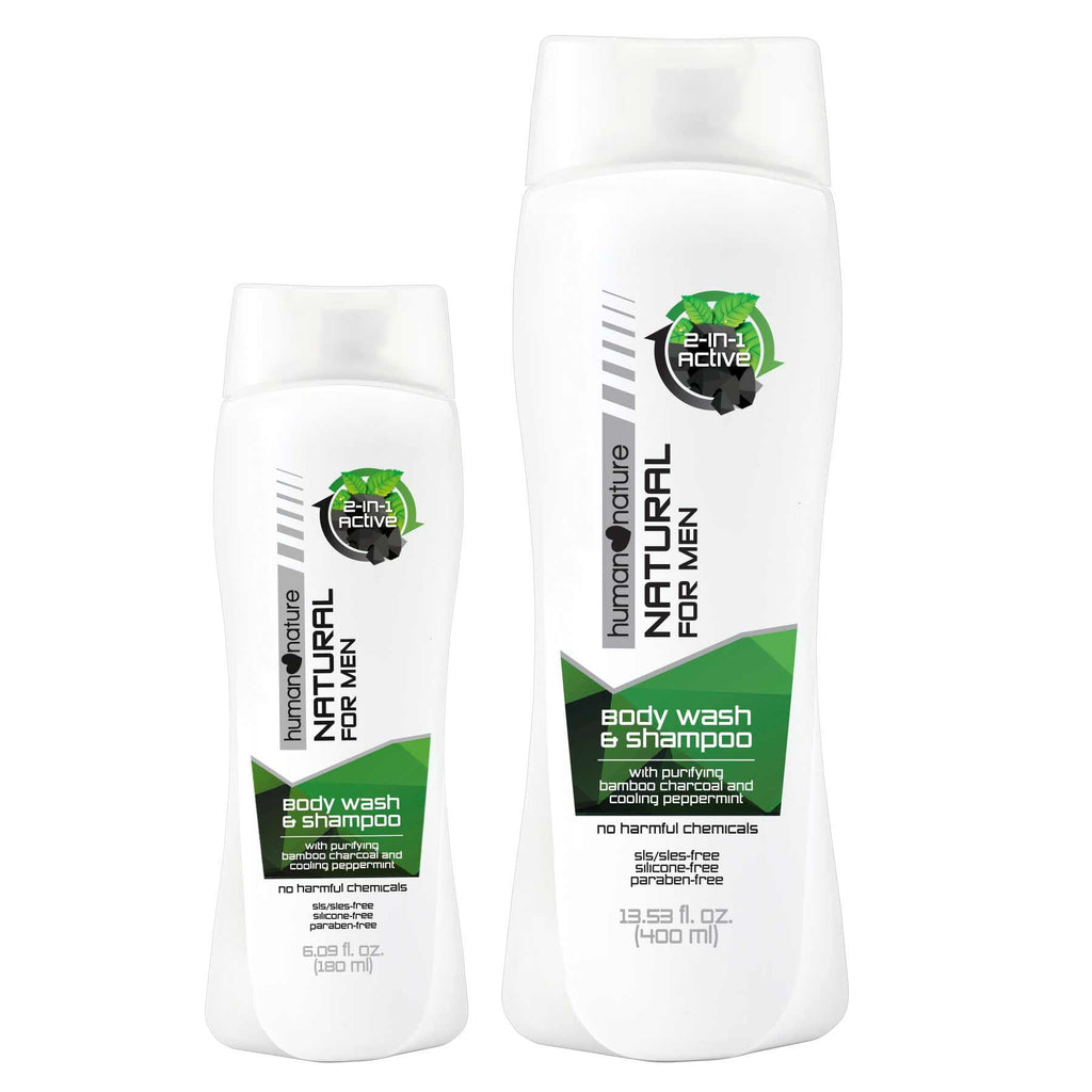 2-in-1 Active Body Wash and Shampoo - Top-Season Essentials