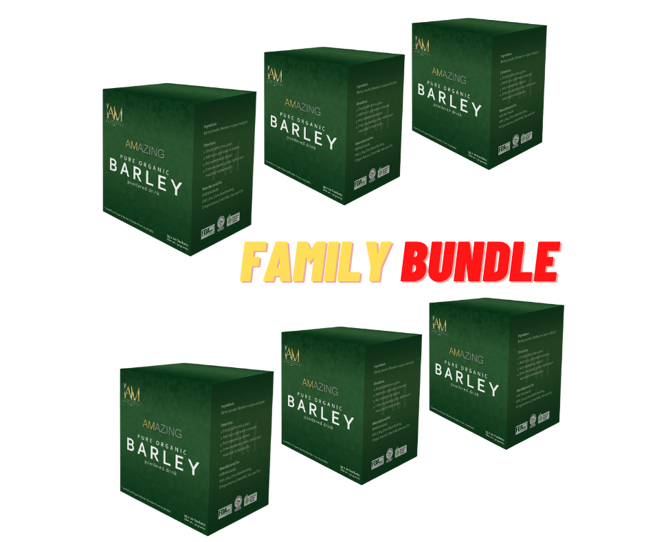 Amazing Organic Barley - FAMILY BUNDLE (FREE DELIVERY) - Top-Season Essentials