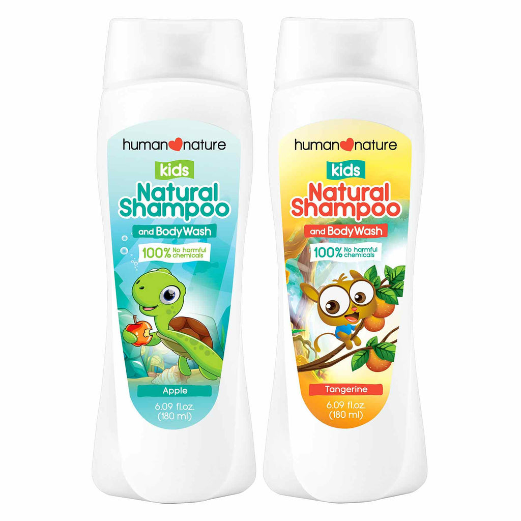 Kids Natural Shampoo and Body Wash - Top-Season Essentials