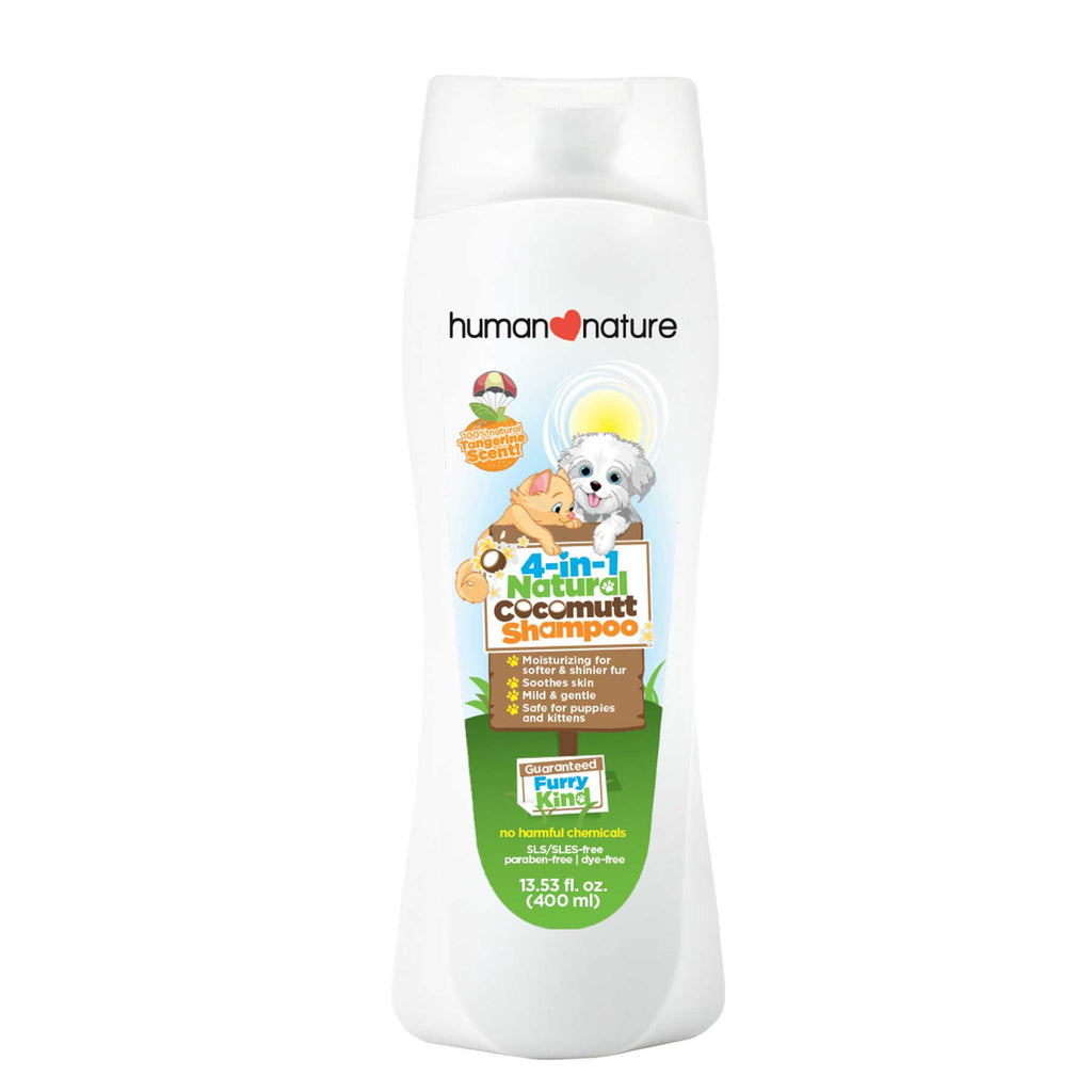 4-in-1 Natural Cocomutt Shampoo 400ml - Top-Season Essentials