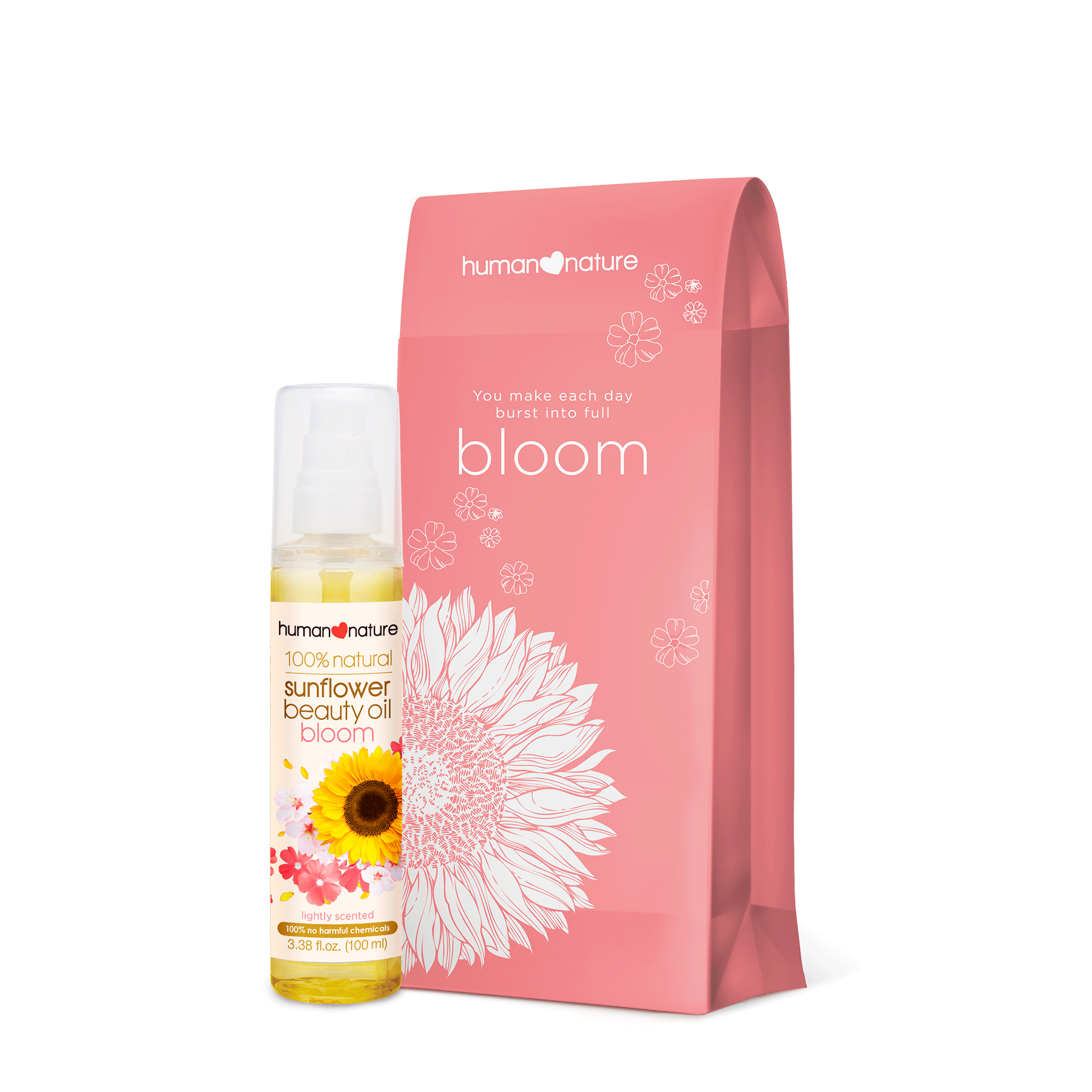Sunflower Beauty Oil Bloom 100ml with Gift Bag - Top-Season Essentials