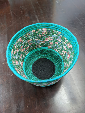 NEW - Green Fabric Bowl
