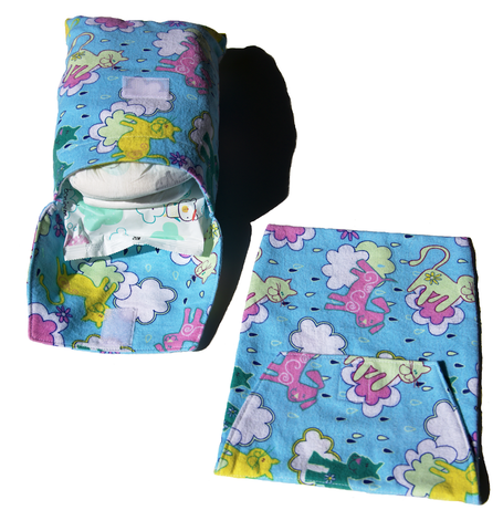 Baby Diaper and Wipes Pouch