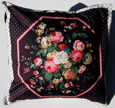 Classic Floral Cushion Cover